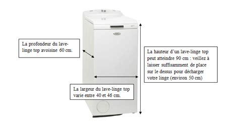 dimension lave linge top bien choisir lave linge top