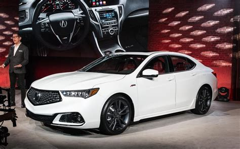 modest improvements    acura tlx  car guide