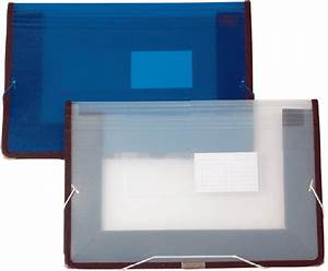 10 x 1525 plastic legal file w elastic band closure With plastic document holders with velcro brand closure