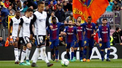 Horario y dónde ver el Valencia vs FC Barcelona de LaLiga ...