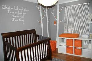 Décoration Chambre De Bébé : d coration chambre b b orange ~ Teatrodelosmanantiales.com Idées de Décoration