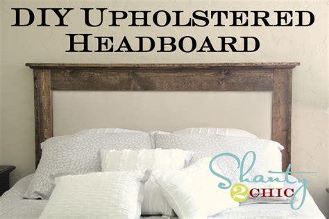 Diy Upholstered Queen Headboard Shanty  Chic
