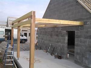 Construire Un Carport : construire un carport toit plat am nagement bureau ~ Premium-room.com Idées de Décoration