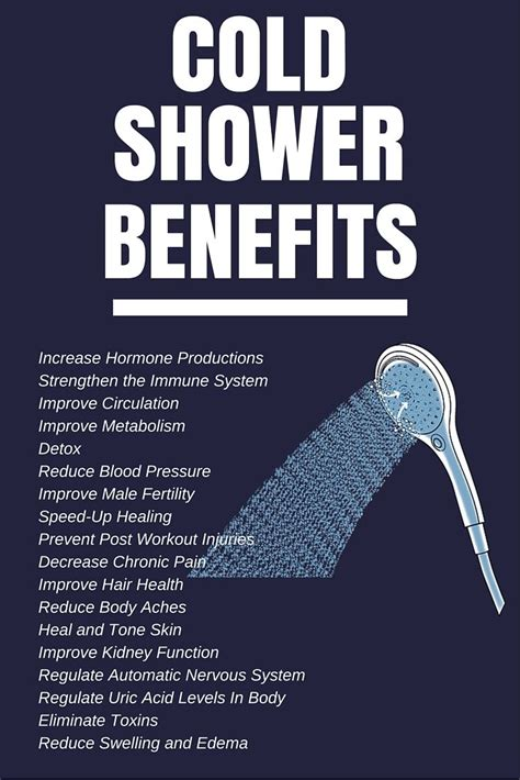 Benefits Of Cold Showers by 12 Benefits Of Taking Cold Showers Cold Baby Health