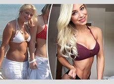 'Chubby' woman transformed into bikini bodybuilder after