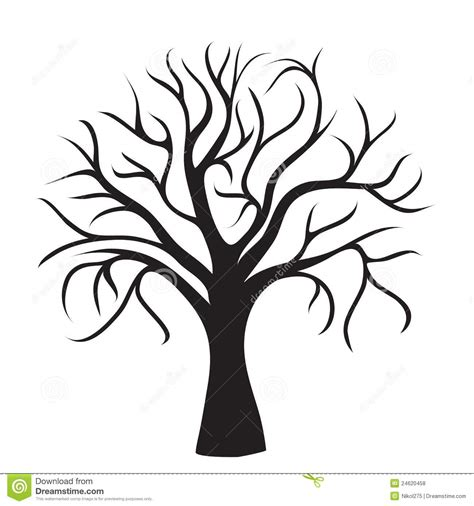 clipart tree without leaves clipart panda free clipart