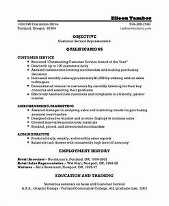 8 sample good resume objectives sample templates for Good objective for resume customer service