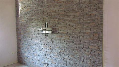 Bescheiden Wohnzimmer Ideen Steinwand Wohnzimmer Steinwand Grau Wohndesign