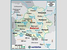 Page 2 Belarus Map Geography of Belarus Map of