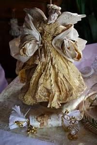 Ange De Noel Pour Cime De Sapin : et si on invitait les anges notre table de no l ~ Teatrodelosmanantiales.com Idées de Décoration