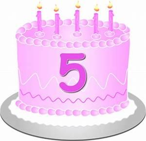 5th Birthday Clipart