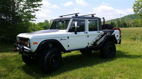 custom built bars 4 door early ford bronco restomods krawlers edge