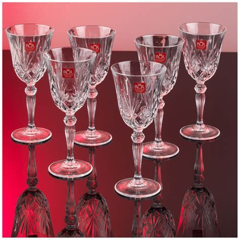 RCR Crystal Melodia Wine Glasses (Set of 6)   IWOOT