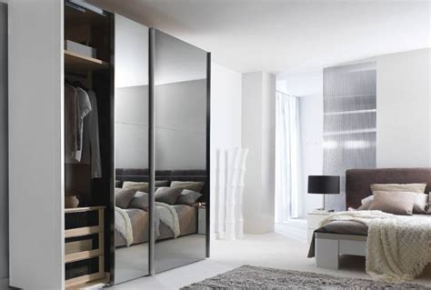 chambre a coucher design placard porte coulissante dressing meubles gautier