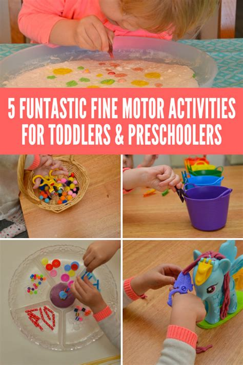 fine motor skills activities for preschoolers 5 funtastic motor activities for toddlers amp preschoolers 126