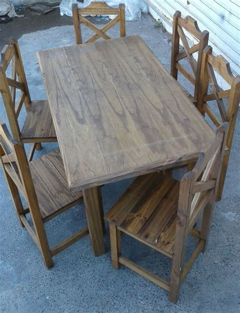 sillas cruz de pino tu hogar