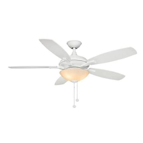 Home Depot Ceiling Fans White by Hton Bay Springview 52 In White Ceiling Fan 14921