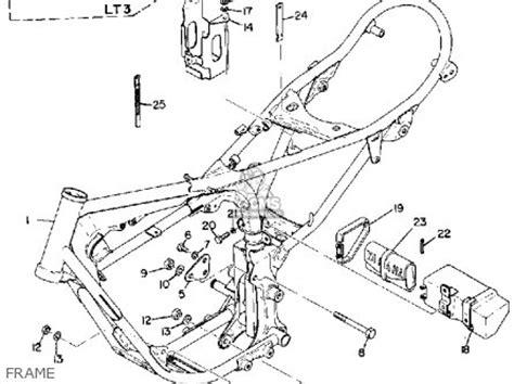 yamaha lt2 1972 1973 usa parts list partsmanual partsfiche