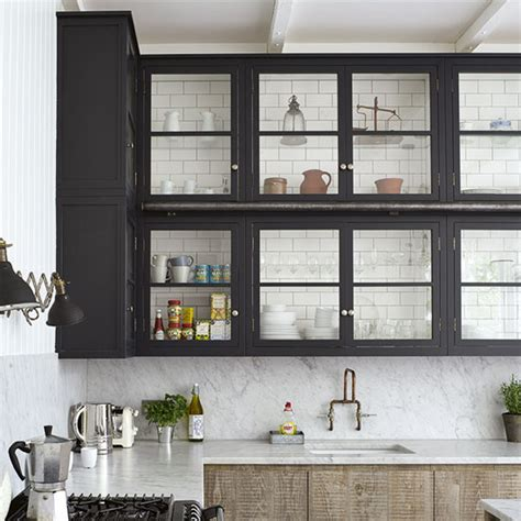 black kitchen wall cabinets 9 clever storage updates for kitchens ideal home 4725