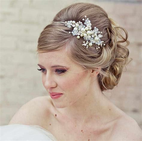 Tierras With Veils Advane Bridal Top Wedding Updos For