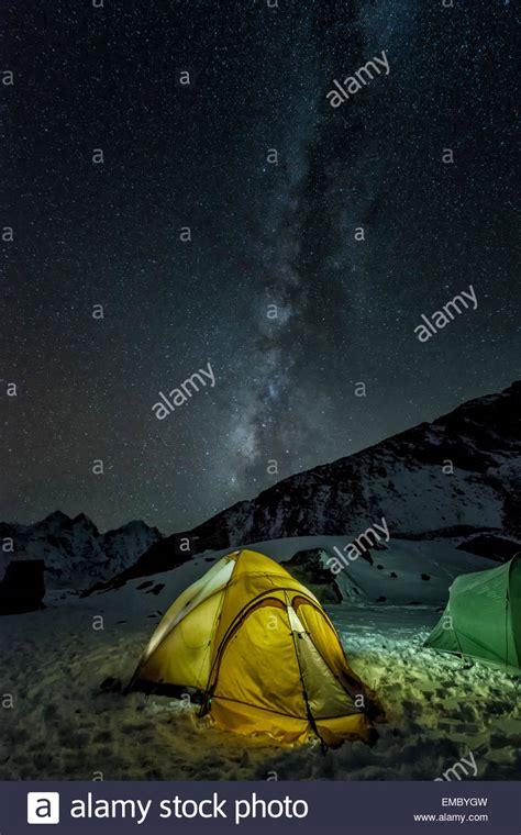 Sagarmatha National Park And Night Stock Photos