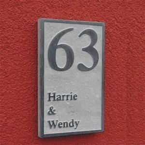 Plaque De Maison : plaque de maison en pierre votre plaque de maison ou num ro de rue en pierre naturelle board 2 ~ Teatrodelosmanantiales.com Idées de Décoration