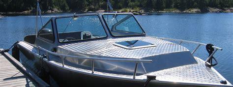 Aluminum Boats Canada by Custom Boat Works Welded Aluminum Boats