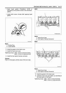 Isuzu Hitachi 4hk1 6hk1 Engine Workshop Manual