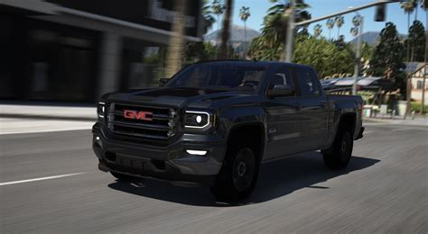 gmc sierra 1500 crew cab all terrain x 2017 add on