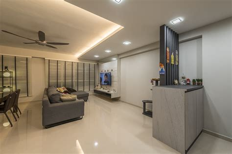 Home Design Ideas For Hdb Flats by A Clean And Contemporary Look For This 5 Room Hdb Flat