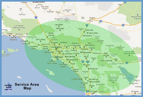 Service Los Angeles by American Water Water Conditioners Softeners And