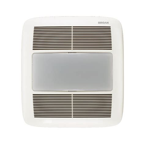 how to change bulb in bathroom exhaust fan shop broan 1 5 sone 140 cfm white bathroom fan energy star
