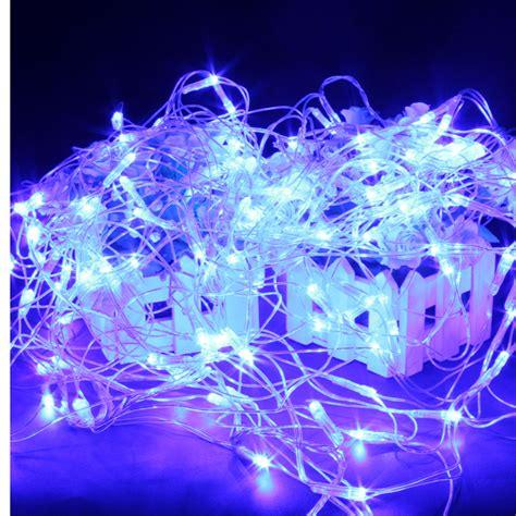 blue net christmas lights buy 120 blue led web net fairy waterproof light for