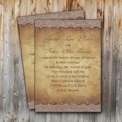 rustic country wedding invitations rustic burlap wedding invitations ewi249 as low as 0 94