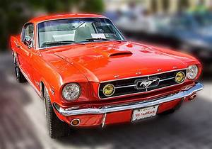 1965 Ford Mustang Fastback Photograph by Bob Slitzan