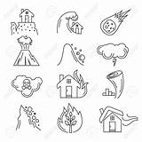 Earthquake Natural Disaster Drawing Vector Icons Tsunami Tornado Illustration Getdrawings Clipart Effect Hurricane Wind Cloud Tree Icon Drawings Isolated Symbol sketch template