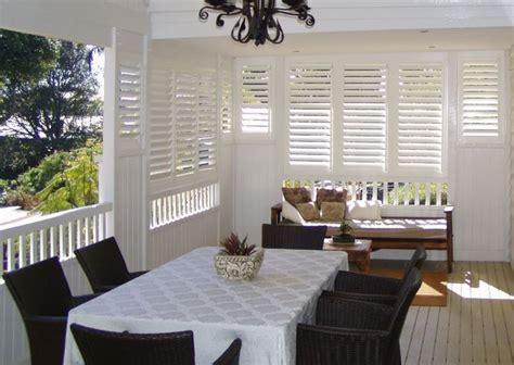 plantation style shutters  verandahs google search