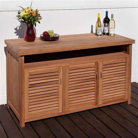 Teak Outdoor Cabinetry Outdoor Ideas