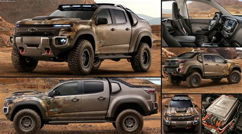 Chevrolet Colorado Zh2 Concept (2016) Pictures