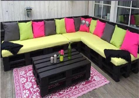 une terrasse en bois recycl 233 pour un magnifique salon