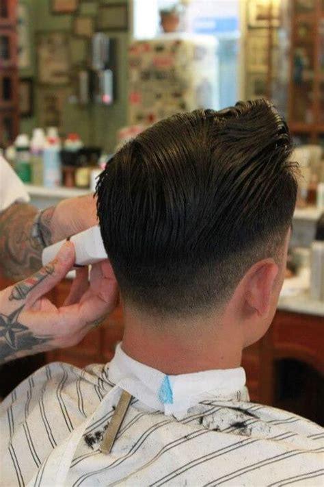 mens hair  taper