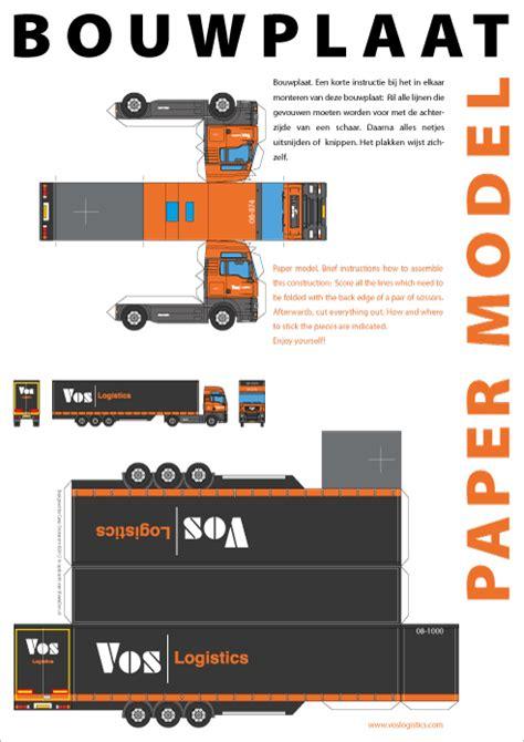 yorlogo bouwplaat truck met oplegger op  formaat