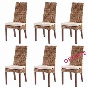 lot chaises de cuisine pas cher chaises en rotin lot 6 With deco cuisine avec chaise salle a manger pas cher lot de 6