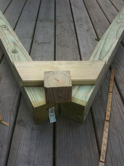 a frame swing set woodworking plans for building a simple swing set out of