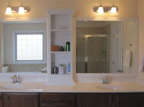 Bathroom Mirrors With Shelves by Awesome 15 Images Bathroom Mirror And Shelf Extended