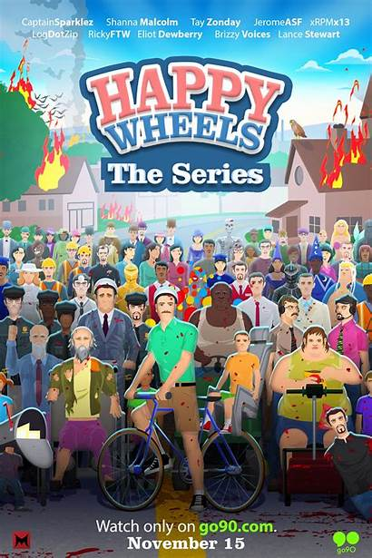 Wheels Happy Animated Poster Collider Trailer Go90