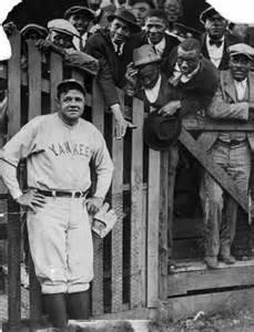 New York Yankee Babe Ruth as A