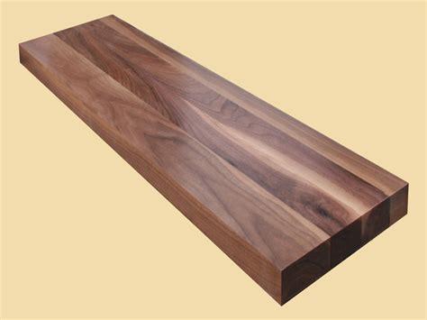 wide plank pine custom size walnut stair tread prefinished