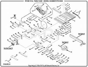 Ryobi Bt3100 10 Table Saw Parts