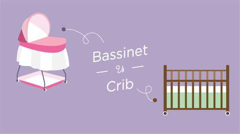 bassinet vs crib bassinet vs crib what s better for baby